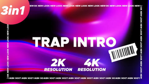 Trap Intro After Effects Template