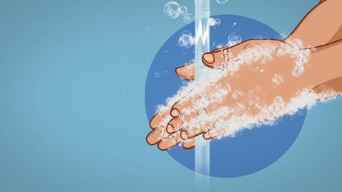 Wash Your Hands Coronavirus Animation Animation