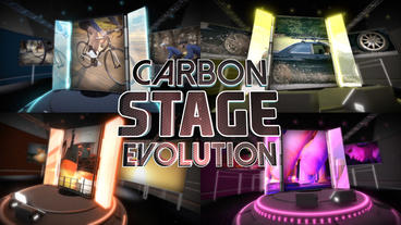 Carbon Stage Evolution - After Effects Template After Effects Project