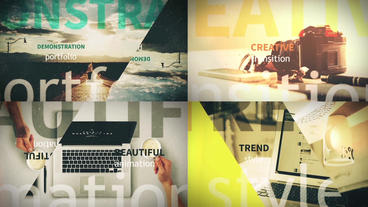 Minimal Slides After Effects Templates