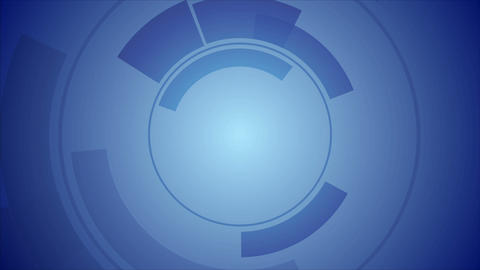 Abstract blue technology video animation Animation