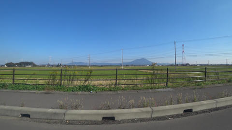 Mount Tsukuba is one of the famous mountains in Japan. /遠くに見える筑波 ライブ動画