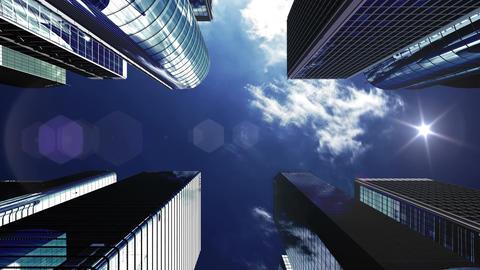 Skyscraper 2 Ab2 sun 4k Animation
