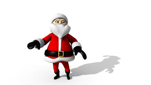 Santa Claus Dancing Christmas Animation