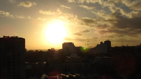 View Of Sunset Live Action
