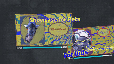 Showcase for Pets After Effects Template