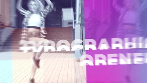 Fast Gradient Intro Premiere Pro Template