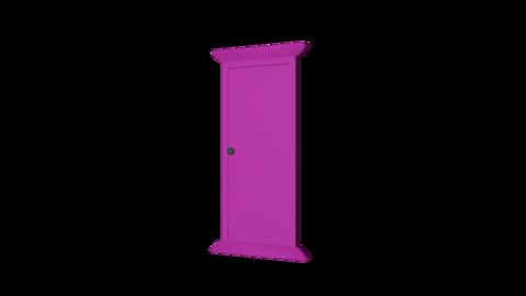 Door front alpha R Animation