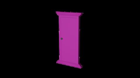 Door front alpha RD Animation