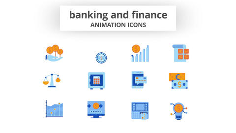 Banking & Finance - Animation Icons After Effects Template