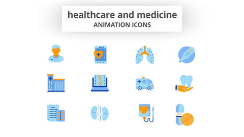 Healthcare & Medicine - Animation Icons After Effects Template