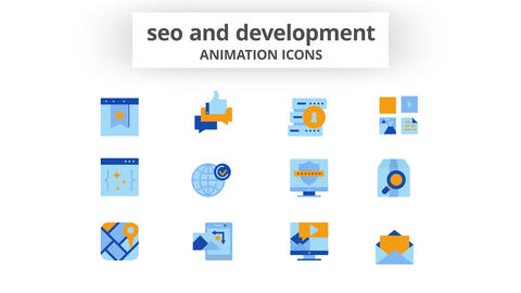 SEO & Development - Animation Icons After Effects Template