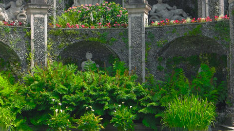Isola bella garden sculptures statue of a unicorn history of italy Live Action