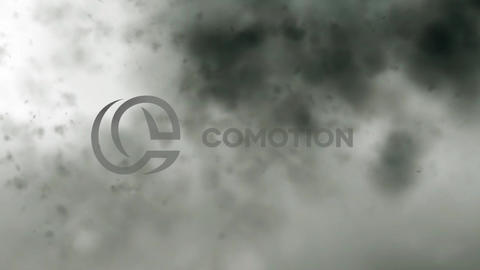 Dark Smoke Logo Reveal Apple Motion Template