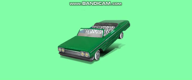 lowrider Impala 1964 3D Model