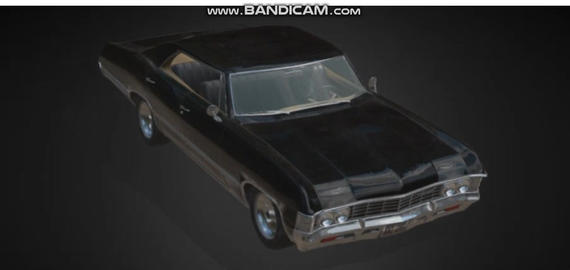 Chevrolet impala 1967 3D Model