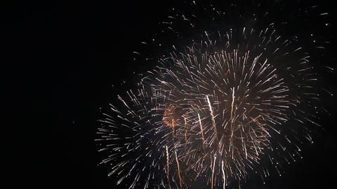 Fireworks festival in Tokyo、 Fireworks Festival Star Mine Footage
