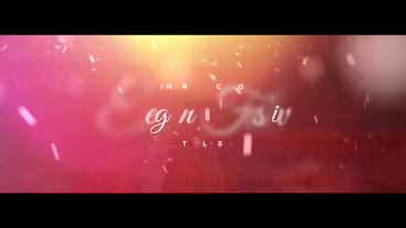 Elegant Festive Titles After Effects Projekt