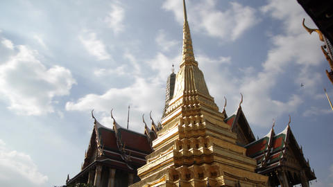 Grand Palace Temple in Bangkok Footage