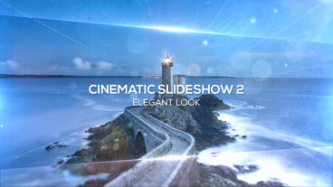 Cinematic Slideshow After Effects Project