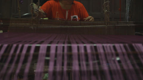 Oriental Ethnic Tribe - Traditional Handmade Textile Weaving Live Action
