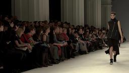 Fashion week. Fashion show. Slow motion Footage