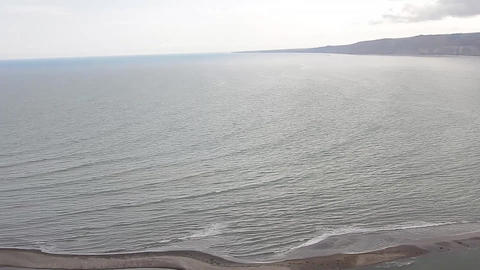 Bay from high Footage