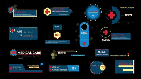 Medical Titles Templates Motion Graphics Template