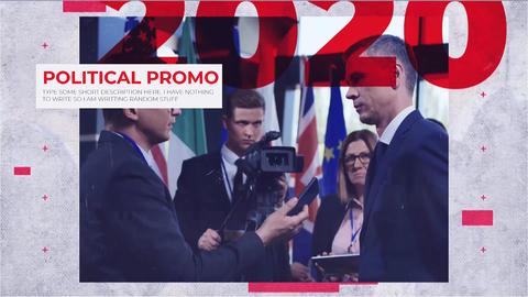 Political Promo 프리미어 프로 템플릿