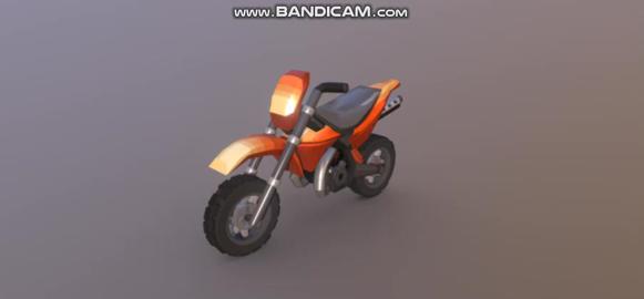 HCR2 Motocross 3D Model