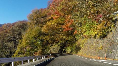 Road in Japan, Iroha Saka Footage