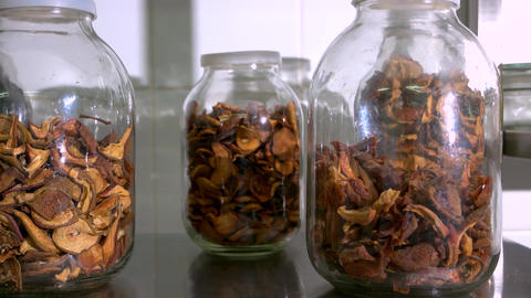 Dried apples in glass jars driedm fruits in glass jars Live Action