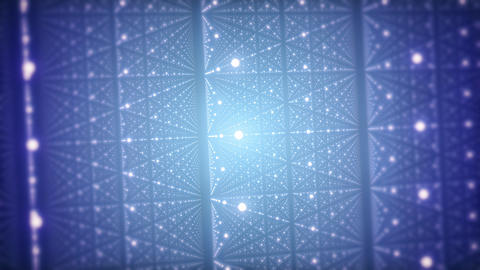Particle Grid CG Background Animation