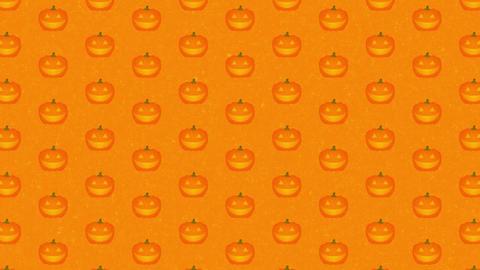 上に流れる パンプキン オレンジ ノイズテクスチャ CG動画