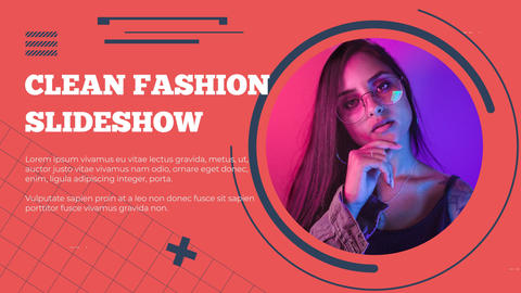 Clean Fashion Slideshow After Effects Template