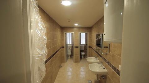 Construction site toilets inside Live Action