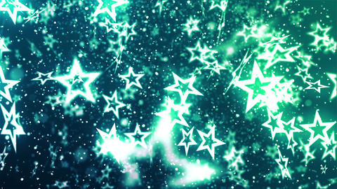 New Year Flying Stars 2 Animación