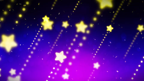 Bright and shining stars,CG Animation,Blue,Loop Animation