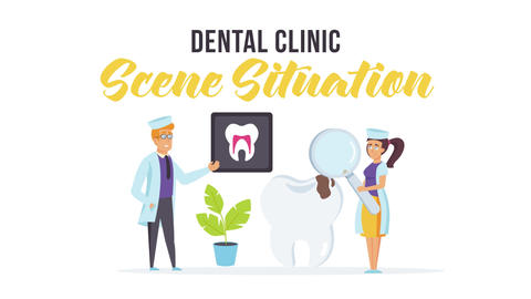 Dental clinic - Scene Situation After Effects Template