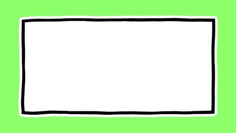 Handdrawn frame large2 Animation