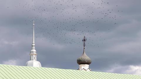 24-22-2-X- Christian Churches In Suzdal. Russia.