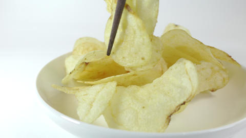 Potato chips salty023 Live Action