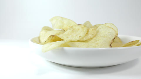 Potato chips salty027 Live Action