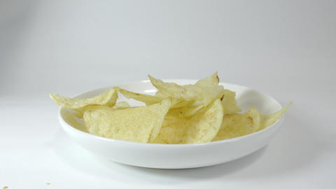 Potato chips salty029 Live Action