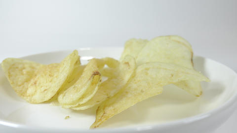 Potato chips salty010 Live Action