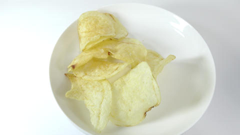Potato chips salty013 Live Action