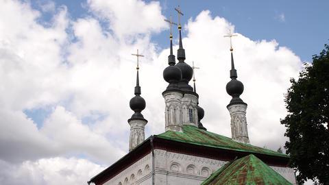 24-22-2-L- Christian Churches In Suzdal. Russia.