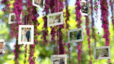 Pink Flowers Wedding Apple Motion Template