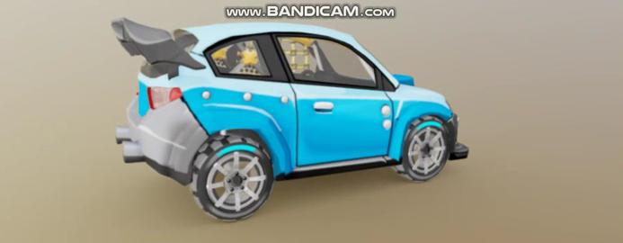 Rally Car 3D Model