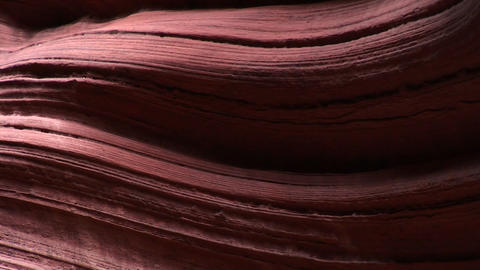 Medium-shot of setting-sunlight reflecting off cliffs in Zion National Park Footage